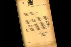 Carta Filiação da ACIUB com CACB 1934
