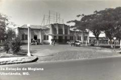 Estação Mogiana em Uberlândia.